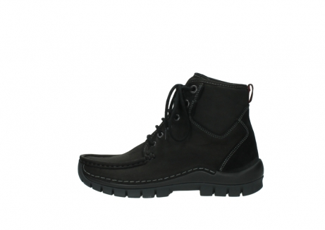 wolky veterboots 04727 dive winter 50000 zwart geolied leer_1