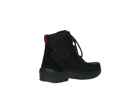 wolky lace up boots 04727 dive winter 50000 black oiled leather_10