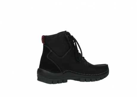 wolky veterboots 04727 dive winter 50000 zwart geolied leer_11
