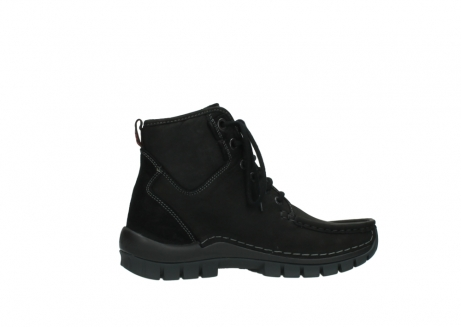 wolky veterboots 04727 dive winter 50000 zwart geolied leer_12