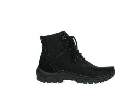 wolky lace up boots 04727 dive winter 50000 black oiled leather_13