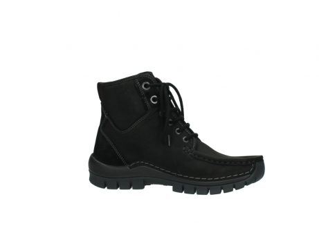 wolky veterboots 04727 dive winter 50000 zwart geolied leer_14