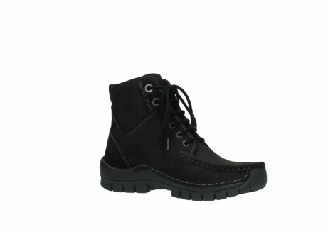 wolky lace up boots 04727 dive winter 50000 black oiled leather_15