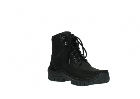 wolky veterboots 04727 dive winter 50000 zwart geolied leer_16