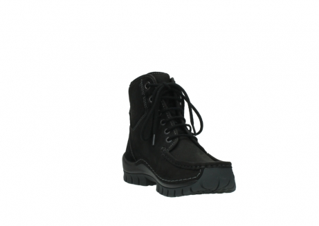 wolky veterboots 04727 dive winter 50000 zwart geolied leer_17
