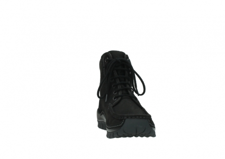 wolky lace up boots 04727 dive winter 50000 black oiled leather_18
