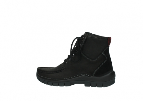 wolky veterboots 04727 dive winter 50000 zwart geolied leer_2