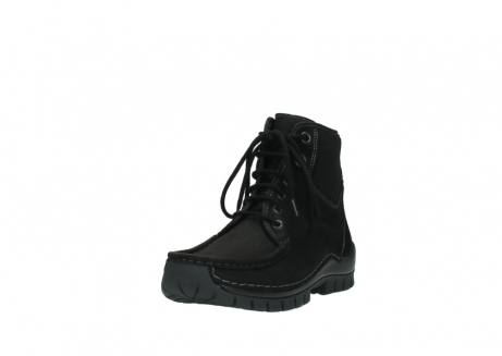 wolky lace up boots 04727 dive winter 50000 black oiled leather_21
