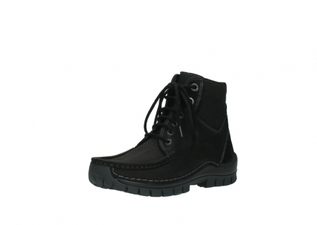 wolky veterboots 04727 dive winter 50000 zwart geolied leer_22