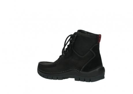 wolky lace up boots 04727 dive winter 50000 black oiled leather_3
