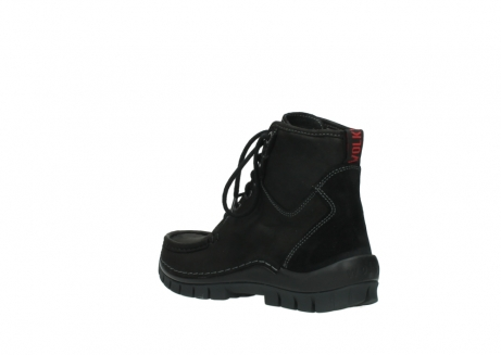 wolky veterboots 04727 dive winter 50000 zwart geolied leer_4