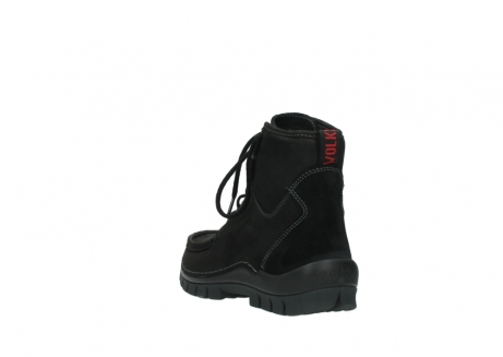 wolky veterboots 04727 dive winter 50000 zwart geolied leer_5
