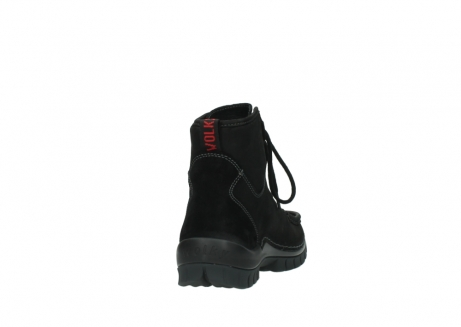 wolky lace up boots 04727 dive winter 50000 black oiled leather_8
