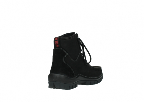 wolky lace up boots 04727 dive winter 50000 black oiled leather_9