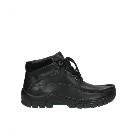 wolky veterboots 04728 cross winter 20000 zwart leer