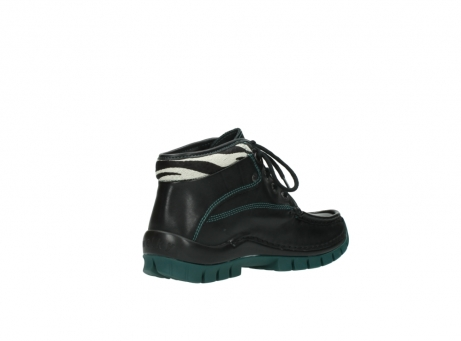 wolky veterboots 04728 cross winter 20030 zwart groen leer_10