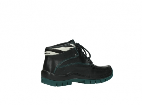 wolky veterboots 04728 cross winter 20030 zwart groen leer_11