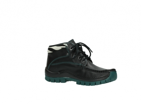 wolky veterboots 04728 cross winter 20030 zwart groen leer_15