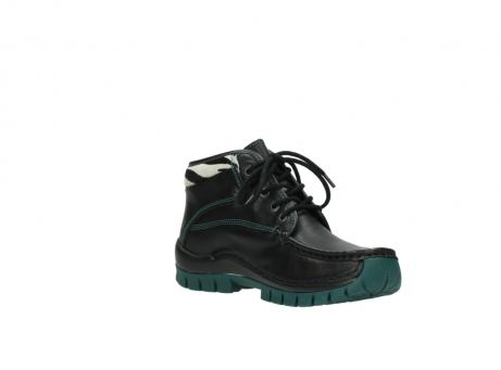 wolky veterboots 04728 cross winter 20030 zwart groen leer_16