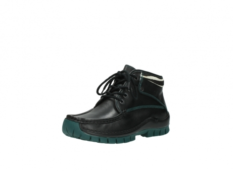 wolky veterboots 04728 cross winter 20030 zwart groen leer_22