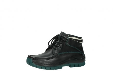 wolky veterboots 04728 cross winter 20030 zwart groen leer_23