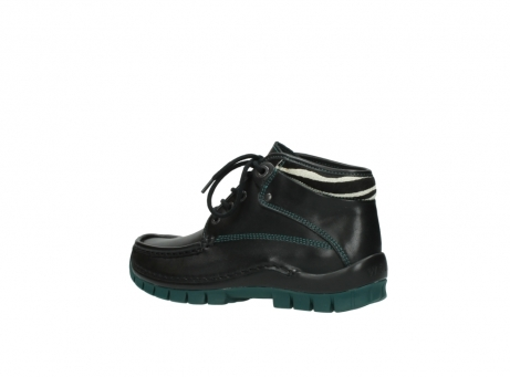 wolky veterboots 04728 cross winter 20030 zwart groen leer_3