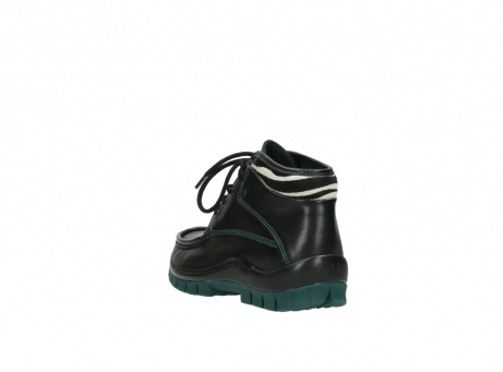 wolky veterboots 04728 cross winter 20030 zwart groen leer_5