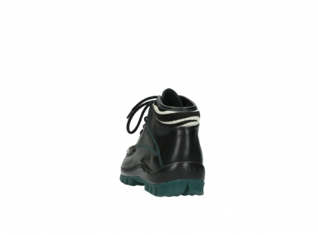 wolky veterboots 04728 cross winter 20030 zwart groen leer_6