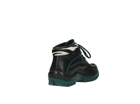 wolky veterboots 04728 cross winter 20030 zwart groen leer_9