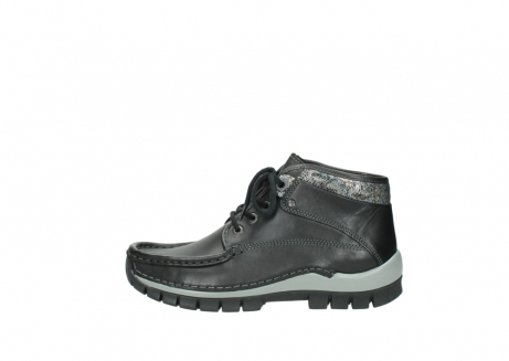 wolky lace up boots 04728 cross winter 20050 black metallic leather_1