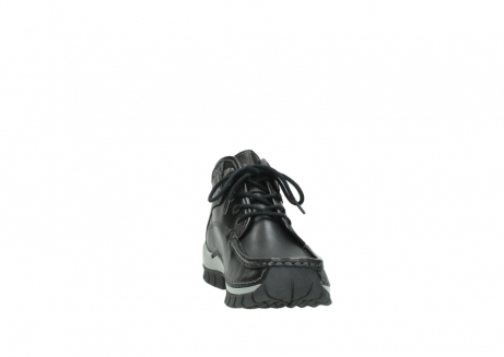 wolky lace up boots 04728 cross winter 20050 black metallic leather_18