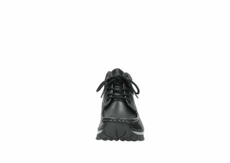wolky lace up boots 04728 cross winter 20050 black metallic leather_19