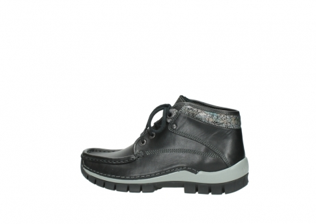 wolky lace up boots 04728 cross winter 20050 black metallic leather_2