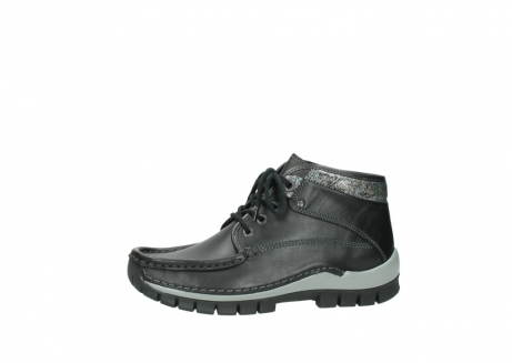 wolky lace up boots 04728 cross winter 20050 black metallic leather_24