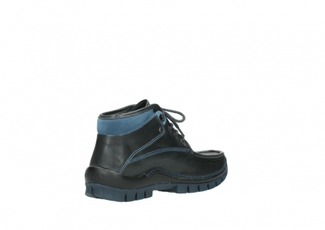 wolky lace up boots 04728 cross winter 20280 anthracite blue leather_10