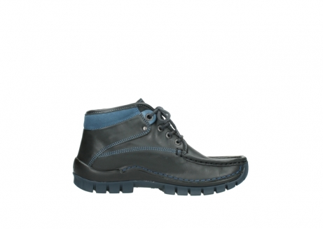 wolky lace up boots 04728 cross winter 20280 anthracite blue leather_13