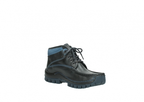 wolky lace up boots 04728 cross winter 20280 anthracite blue leather_16