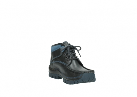 wolky lace up boots 04728 cross winter 20280 anthracite blue leather_17