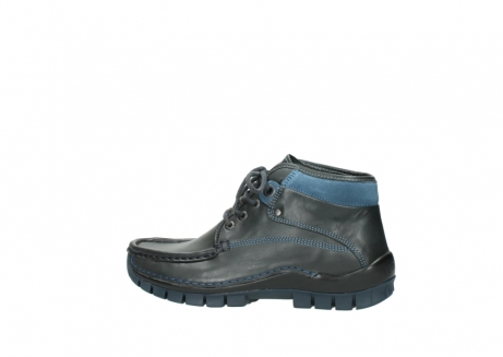 wolky lace up boots 04728 cross winter 20280 anthracite blue leather_2