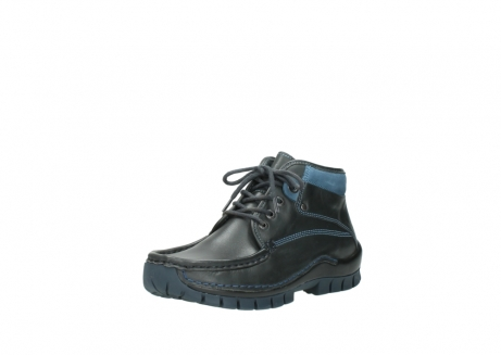 wolky lace up boots 04728 cross winter 20280 anthracite blue leather_22