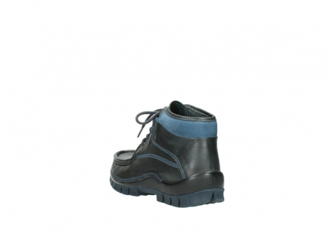 wolky lace up boots 04728 cross winter 20280 anthracite blue leather_5
