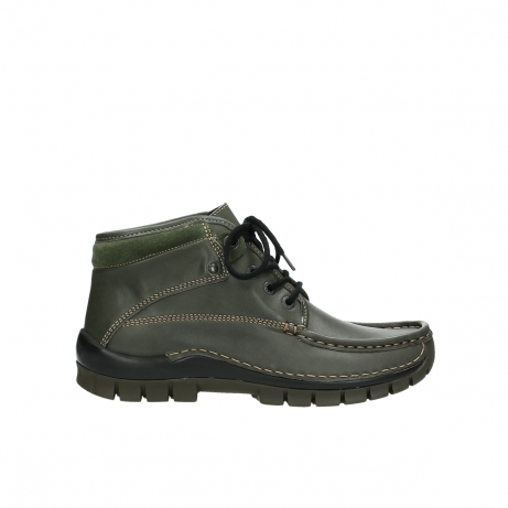 wolky veterboots 04728 cross winter 20730 forest groen leer