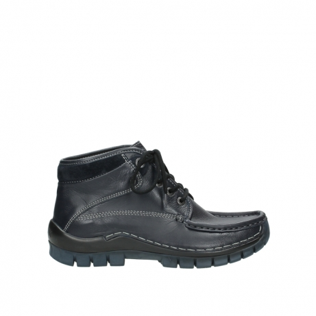 wolky boots 04728 cross winter 30800 blau leder