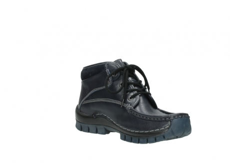 wolky lace up boots 04728 cross winter 30800 blue leather_16