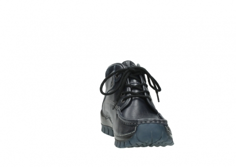 wolky lace up boots 04728 cross winter 30800 blue leather_18