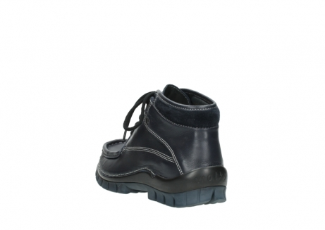 wolky lace up boots 04728 cross winter 30800 blue leather_5