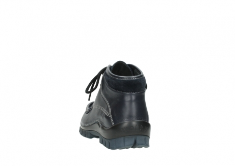 wolky lace up boots 04728 cross winter 30800 blue leather_6