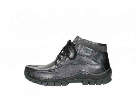 wolky lace up boots 04728 cross winter 81000 black metallic leather_1