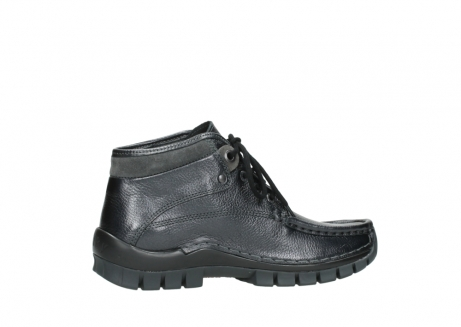 wolky lace up boots 04728 cross winter 81000 black metallic leather_12