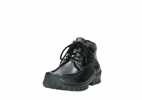 wolky lace up boots 04728 cross winter 81000 black metallic leather_21